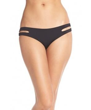 L Space 'Estella' Bikini Bottoms  - Black
