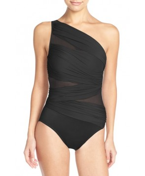 Miraclesuit 'Jena' One Shoulder One-Piece Swimsuit