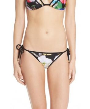 Ted Baker London 'Forget Me Not' Side Tie Bikini Bottoms