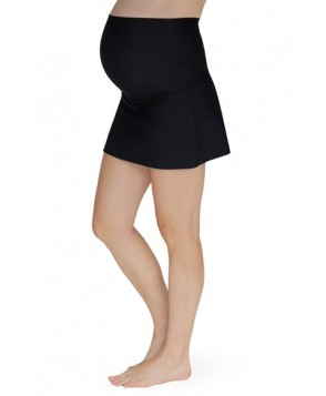 Mermaid Maternity Foldover Maternity Swim Skirt With Attached Briefs