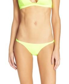 Solid & Striped Morgan Bikini Bottoms - Yellow