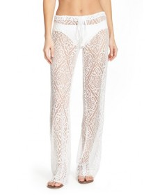 Becca 'Amore' Lace Swim Cover Up Pants