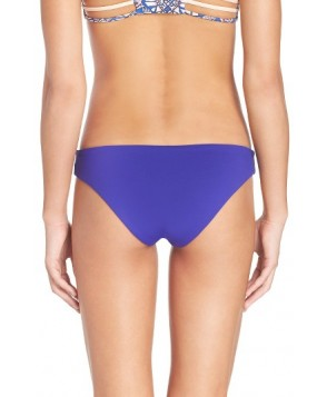 L Space 'Sandy' Seamless Bikini Bottoms  - Blue
