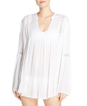 Elan Cover-Up Tunic - White