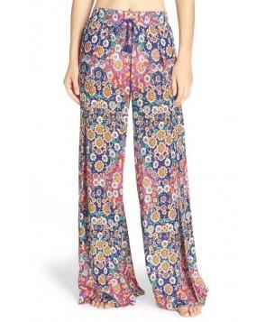 Nanette Lepore Desert Diamond Wrap Cover-Up Pants