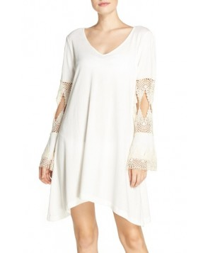 Green Dragon Laguna Cover-Up Tunic  - Ivory