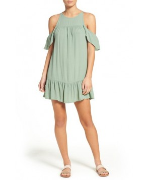 Suboo Valley Frill Cover-Up Dress  - Ivory