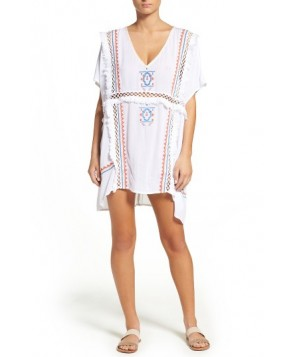 Suboo Dreamweaver Cover-Up Caftan/Large - White