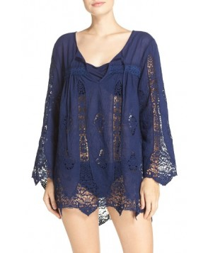 Nanette Lepore 'Caraby' Crochet Cover-Up Tunic