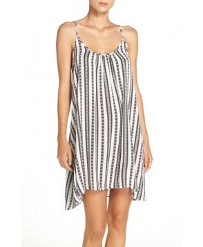 Elan Print Cover-Up Dress  - White
