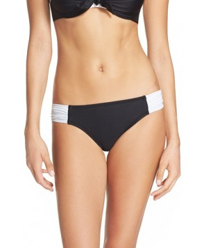 Blush By Profile Island Hopping Bikini Bottoms  - Black