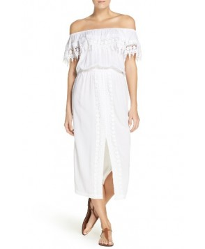 La Blanca Costa Brava Cover-Up Dress  - White