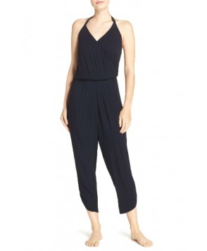 Green Dragon Ojai Cover-Up Jumpsuit  - Blue