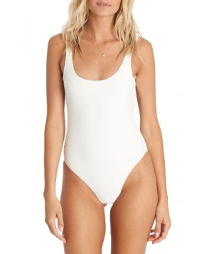 Billabong Line Up One-Piece Swimsuit  - White