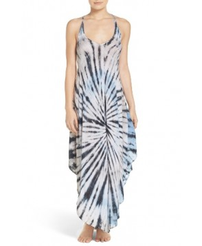 Surf Gypsy Tie-Dye Cover-Up Dress  - Blue