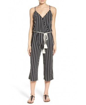 Surf Gypsy Crop Cover-Up Jumpsuit