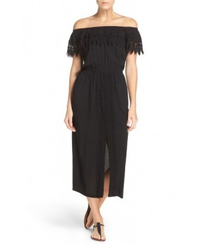 La Blanca Costa Brava Cover-Up Dress  - Black