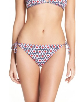 Tommy Bahama Geo-Graphy Reversible String Bikini Bottoms