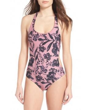 O'Neill Luna Print One-Piece Swimsuit