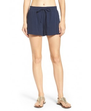 Green Dragon Manhattan Cover-Up Shorts  - Blue