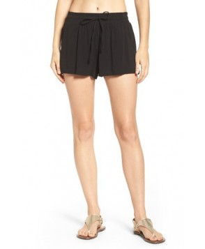 Green Dragon Manhattan Cover-Up Shorts  - Black