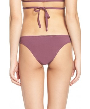 Vitamin A Neutra Bikini Bottoms  - Burgundy