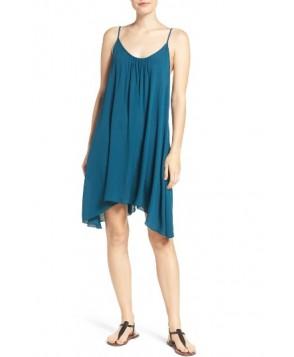 Elan Cover-Up Slipdress  - Blue/green