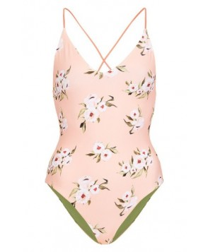 Topshop Posie Reversible One-Piece Swimsuit