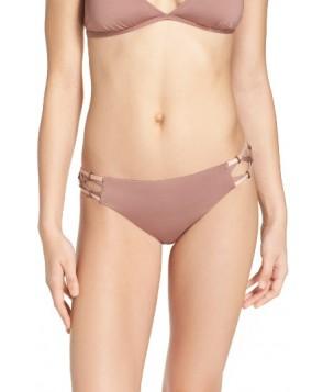 Dolce Vita Beaded Bikini Bottoms  - Brown