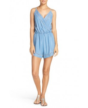 Seafolly Chambray Cover-Up Romper