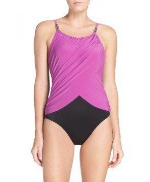 Magicsuit Lisa Underwire One-Piece Swimsuit - Purple