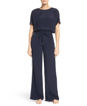 Tory Burch Silk Cover-Up Jumpsuit