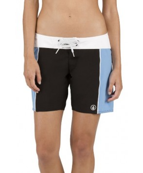 Volcom Simply Solid 7 Board Shorts, Size 9 - Black