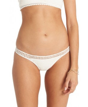 Billabong Hippie Hooray Hawaii Lo Bikini Bottoms - Ivory