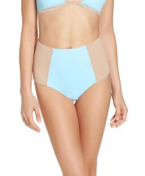 L Space Portia Reversible High Waist Bikini Bottoms