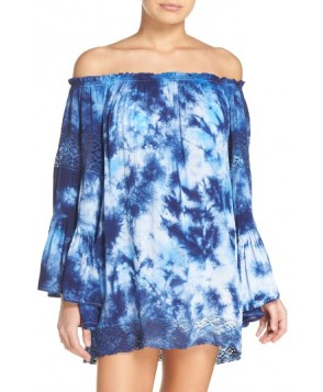 Surf Gypsy Off The Shoulder Cover-Up Tunic