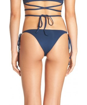 Frankies Bikinis Marley Side Tie Bottoms - Blue