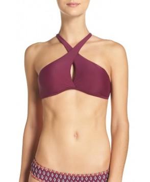 Bca Move Along Bikini Top - Burgundy