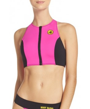 Body Glove Call Me Zip Bikini Top