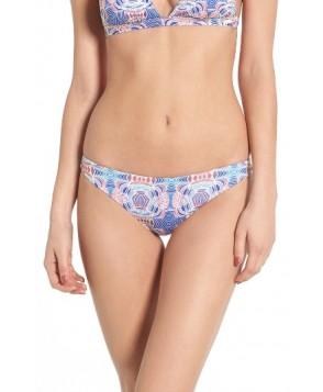 Roxy Strappy Love Reversible Bikini Bottoms - White