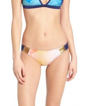 Roxy Pop Surf Mini Bikini Bottoms - White