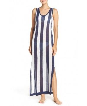 Diane Von Furstenberg Cover-Up Dress, Size Petite - Blue