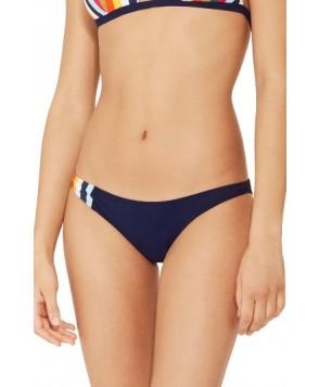 Tory Burch Stripe Bikini Bottoms