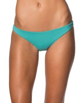 O'Neill Malibu Solids Classic Cheeky Bikini Bottoms - Green