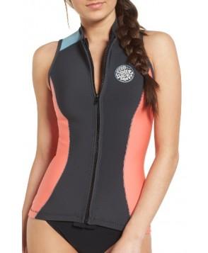Rip Curl G-Bomb Wetsuit Vest - Coral