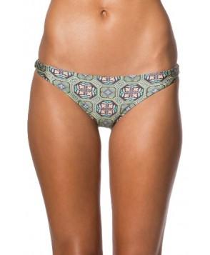 O'Neill Evelyn Classic Cheeky Bikini Bottoms - Green
