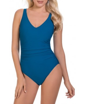 Magicsuit Behind Bars Steffi One-Piece Swimsuit - Blue