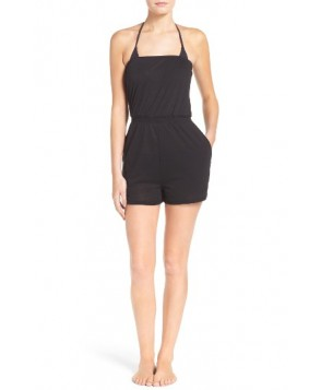 Leith Strapless Cover-Up Romper