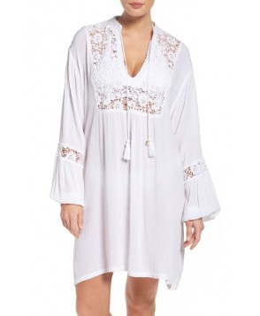 Muche Et Muchette Journey Lace Cover-Up Tunic - White