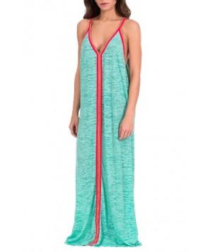 Pitusa Cover-Up Maxi Dress - Green